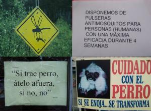 Blog Germinal Lado B Una selección de avisos y carteles curiosos